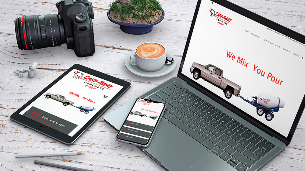 aaa media consulting web design lafayette indiana cart away
